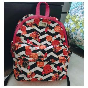 Floral Betsy Johnson Backpack